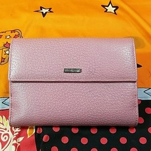 Authentic Gucci Pink Leather Bifold Wallet